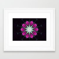 neon Framed Art Prints featuring Neon by IowaShots