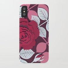 Roses iPhone X Slim Case