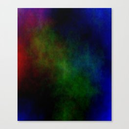 Tinted Clouds Canvas Print