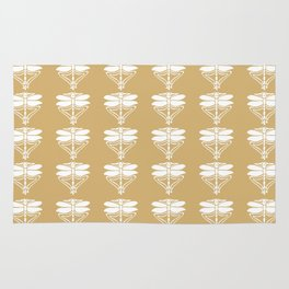 Putty Arts and Crafts Dragonflies Rug