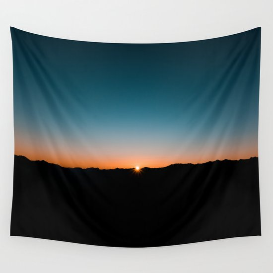 New Day's Dawn Wall Tapestry