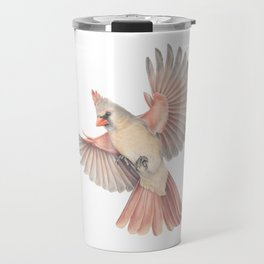 Lady Cardinal Travel Mug