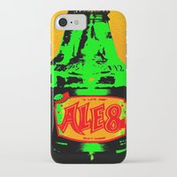 ale giorgini iPhone & iPod Cases featuring Ale-8-One (Bottle) by Silvio Ledbetter