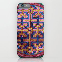 Song for Creativity - Traditional Shipibo Art - Indigenous Ayahuasca Patterns iPhone Case