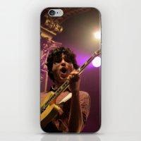 vampire weekend iPhone & iPod Skins featuring ezra koenig // vampire weekend by Hattie Trott