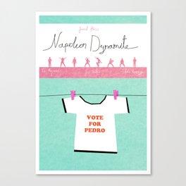 Napoleon Dynamite poster Canvas Print