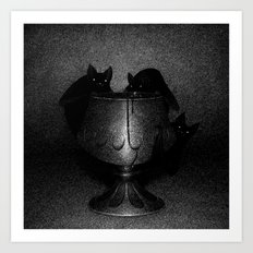 Drawlloween 2016: Bat Art Print