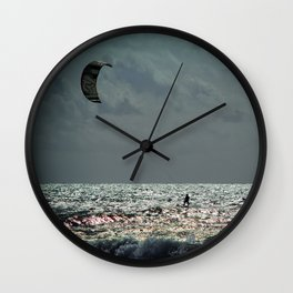 Wind Wall Clock