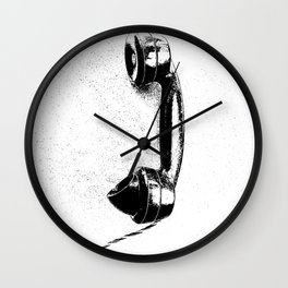 Vintage talk Wall Clock