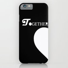 Together Forever (Black and White) iPhone 6s Slim Case