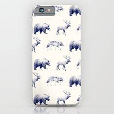 Wild Pattern // Blue Slim Case iPhone 6