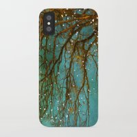 lights iPhone & iPod Cases featuring Magical by The Last Sparrow