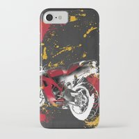 ducati iPhone & iPod Cases featuring Ducati 1098 Color Spots by Larsson Stevensem