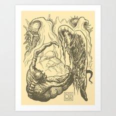 Alien Doom Art Print