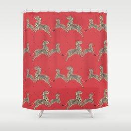 Royal Tenenbaums Wallpaper Shower Curtain