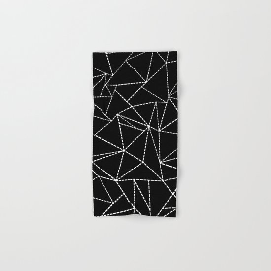 Ab Dotted Lines Hand & Bath Towel