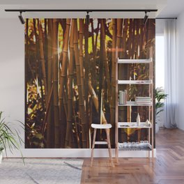 Autumn bamboo forest #photography #autumn Wall Mural