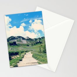 Up Mount Rainier Stationery Cards