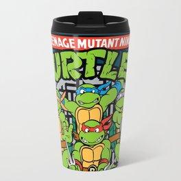 Teenage Mutant Turtles Ninja TMNT Cartoon Travel Mug