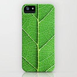 Green Vein Life iPhone Case