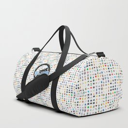 NUGaming Icon Print (Coloured) Duffle Bag