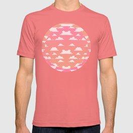 Clouds (color op) T-shirt