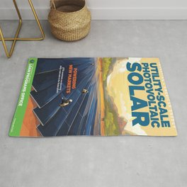 US Department of Energy LPO Poster - Utility-Scale Photovoltaic Solar (2016) Rug