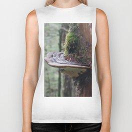 Magical Fungi World   Nature Photography Biker Tank