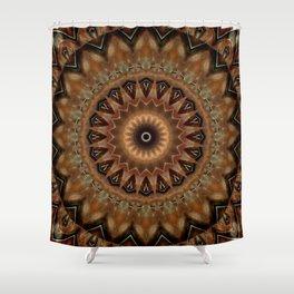 Mandala mother earth Shower Curtain