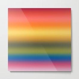 Rainbow 2019 Gradient Metal Print