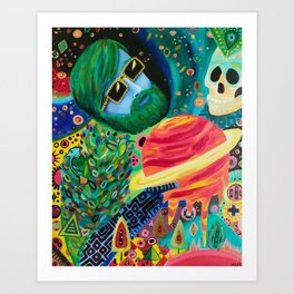 For to be Space Dust Art Print