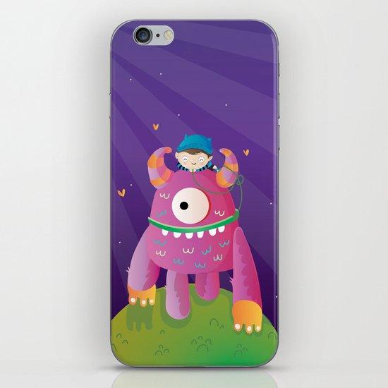Monster pet iPhone & iPod Skin