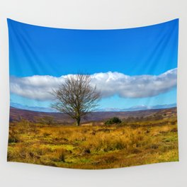 A single tree in The Peak District Wall Tapestry