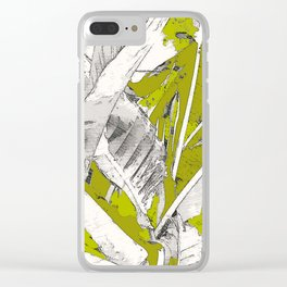 PURA VIDA ARMY Clear iPhone Case
