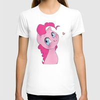 mlp T-shirts featuring Pinkie Pie MLP Cuteness by oouichi