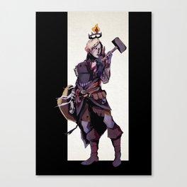 Valkyr Canvas Print