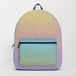 Pastel Rainbow Ombre Gradient Backpack