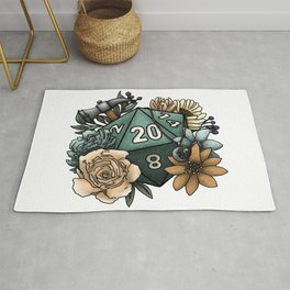 Cleric Class D20 - Tabletop Gaming Dice Rug