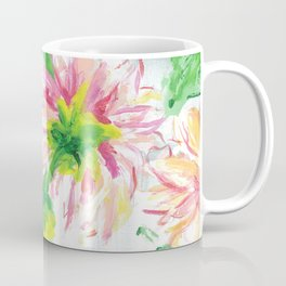 Dahlias on a cloudy day Coffee Mug