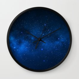 Nebula and Galaxy Wall Clock