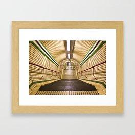The Tube Framed Art Print