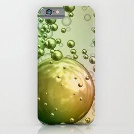 Mirror bubbles iPhone Case