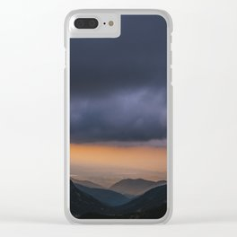 Sunset is my favorite color Clear iPhone Case