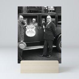 Bureau of Prohibition Agents - 1930 Mini Art Print