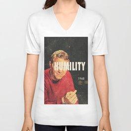 Humility 1968 Unisex V-Neck