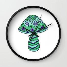 A Single Mushroom (4) Wall Clock