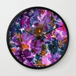 Shadow Rose Wall Clock