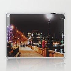 Night Stroll, London.  Laptop & iPad Skin