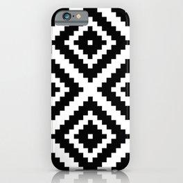 Aztec Diamond Geometric Pattern iPhone Case
