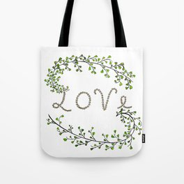 Love Vegetals Tote Bag